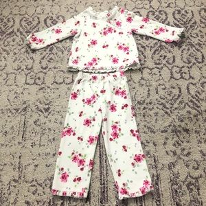 The Children's Place White & Pink Floral Rose Set